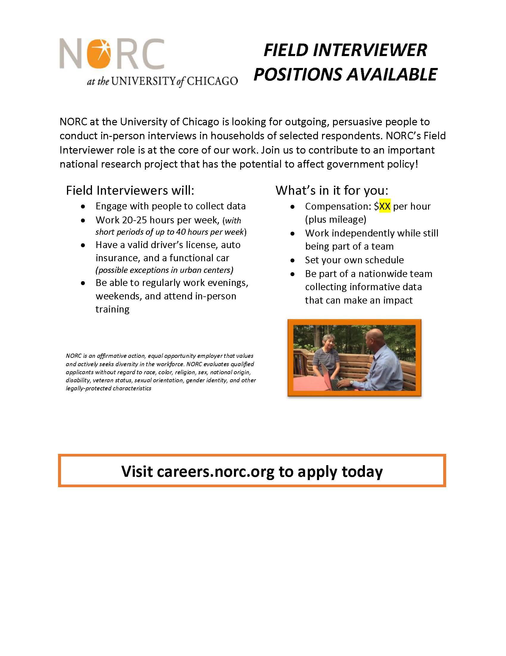Jobs/Volunteering About